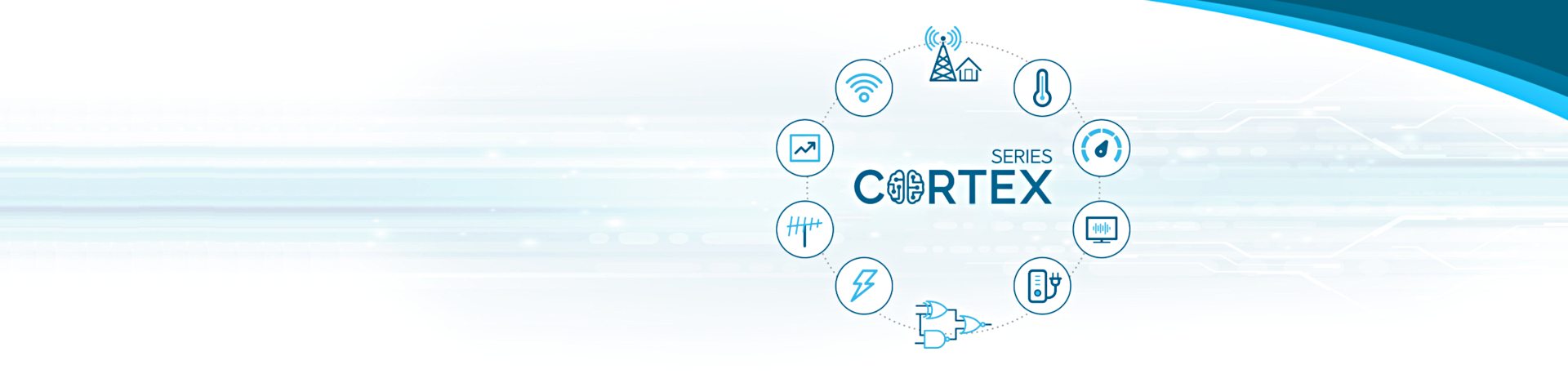 DISCOVER THE NEW CORTEX <br>SERIES